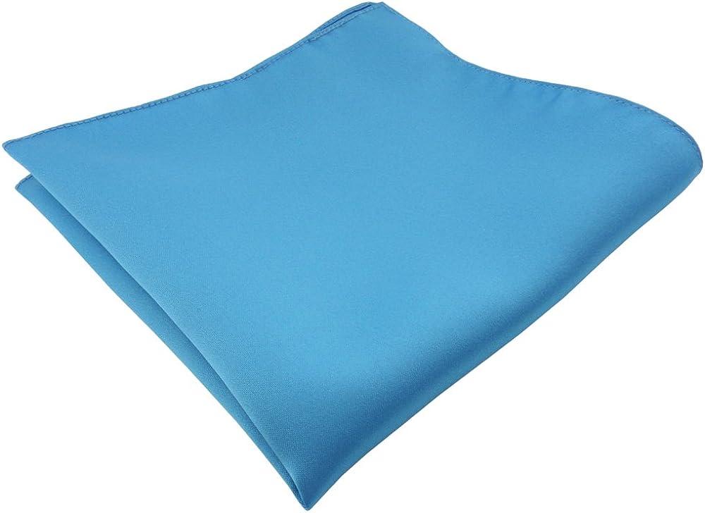 TigerTie azul turquesa agua azul monocromo Sat/én pa/ñuelo pa/ño 100/% poli/éster