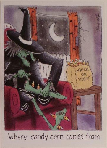 Greeting Card Halloween Humor