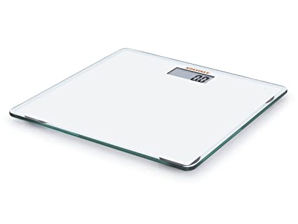 Leifheit 63558 Gld Slim Design - Báscula digital de baño, color blanco