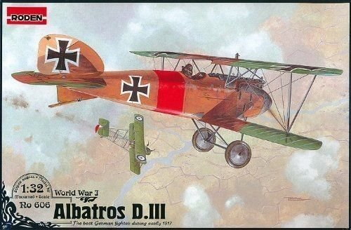 Roden Albatros D.III German Aircraft Plane WWI 1/32 606