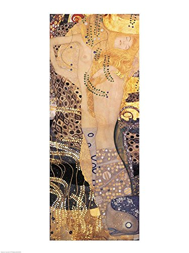 (Water Serpents I by Gustav Klimt Art Print, 20 x 26 inches)