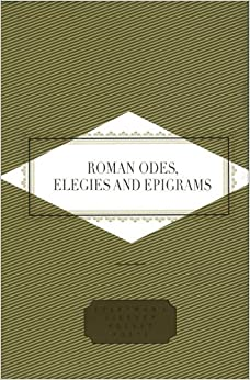 Book Roman Odes, Elegies and Epigrams (Everyman's Library POCKET POETS)