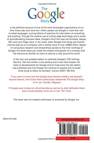 the google story english edition