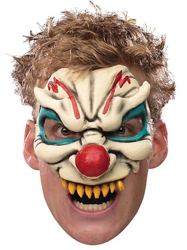 Evil Clown Chinless Mask -