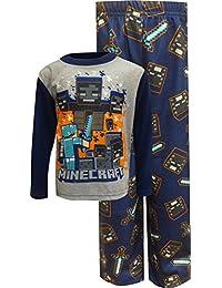 Minecraft Boys Gaming 2-Piece Pajama Set