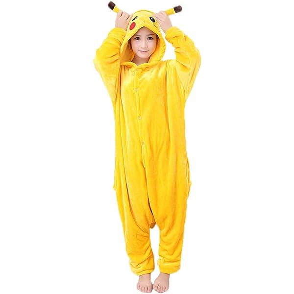 JunYito Pijama Pikachu Animale Disfraz Stitch Traje Niños ...