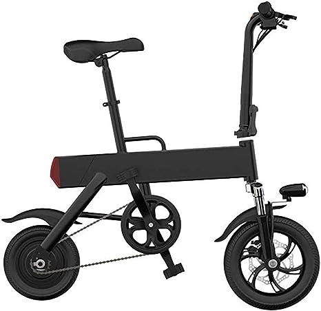 Joyfitness Mini Plegable Bicicleta eléctrica pequeña batería del ...