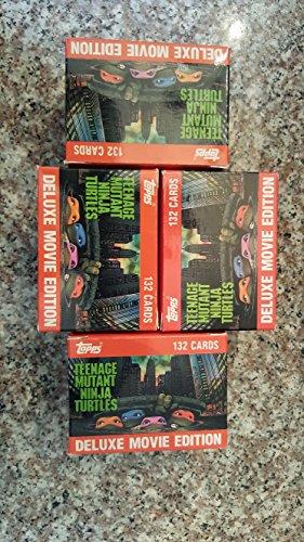 (1) 1990 Topps Tmnt Trading Card Factory Set (132) Cards Teenage Mutant Ninja Turtles Movie Non-sport ()