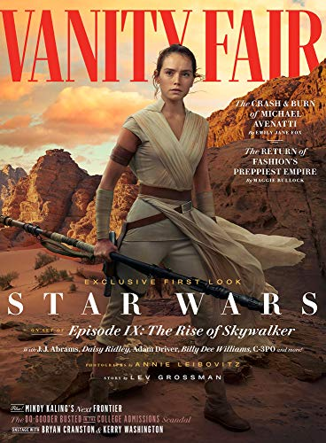 - Vanity Fair Magazine Summer 2019 Star Wars The Rise of Skywalker Daisy Ridley Cover