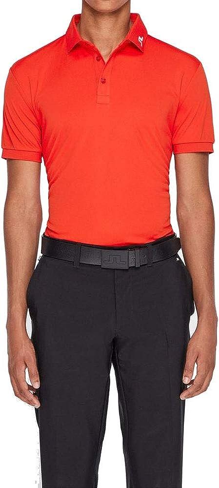 J.Lindeberg Mens Kv Jersey Polo Shirt