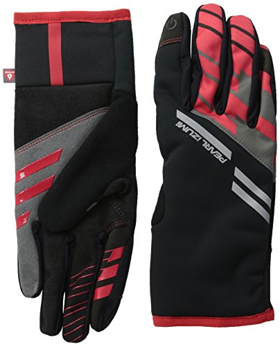 Pearl Shell Finish (Pearl Izumi - Ride Pro Softshell Lite Gloves, True Red, X-Large)