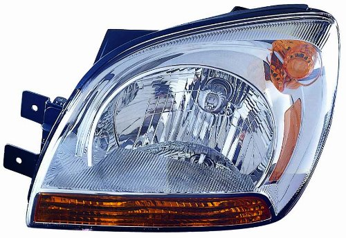 For 2005 2006 2007 2008 Kia Sportage Headlight Headlamp Assembly Driver Left Side Replacement KI2502115
