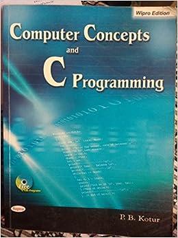 p b kotur computer concept