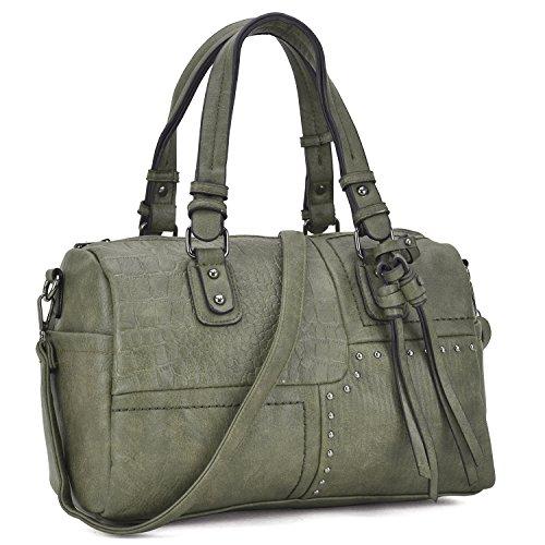 Vegan Leather Handbags - 5