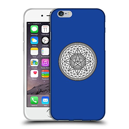 GoGoMobile Coque de Protection TPU Silicone Case pour // Q09710613 Mystique occulte 20 Bleu // Apple iPhone 6 PLUS 5.5""