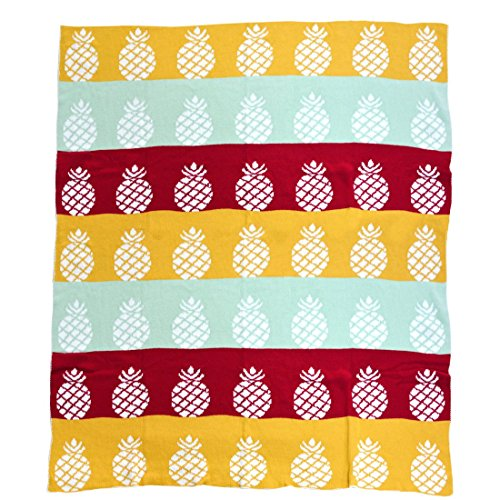 Brandream Cute Blankets Kids Throw Blankets Colorful Soft Cotton Blankets And Throws Adults Everything Blankets Reversible 43'' X 51''