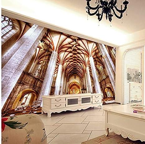 BZDHWWH El Último Mural De Encargo 3D Grande Magnífico De Lujo ...