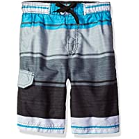 Kanu Surf Boys' Impact Stripe Swim Trunk