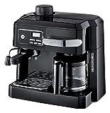 Delonghi BCO320 Combi Espresso Maker Coffee Machine 220-Volts (Not for USA - European Cord) Black
