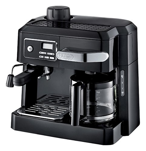 Delonghi BCO320 Combi Espresso Maker Coffee Machine, 220-Volts (Not for USA-European Cord), Black