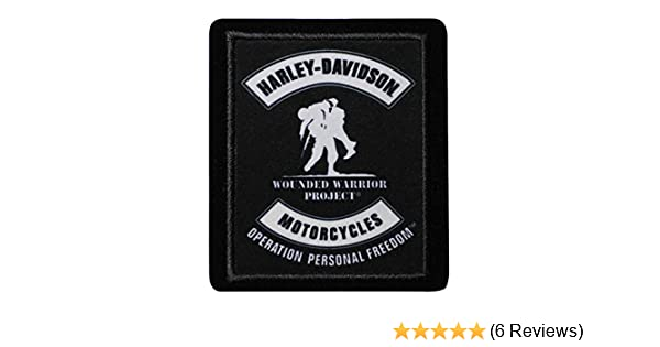 74d1de9f406 Amazon.com  Harley-Davidson Wounded Warrior Project Embroidered Patch