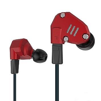 KZ auriculares yinyoo KZ ZS6 2 de alta fidelidad dinámico con 2 equilibrio armazón en oreja