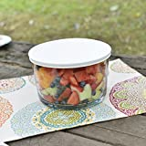 Anchor Hocking Presence Party Bowl with White