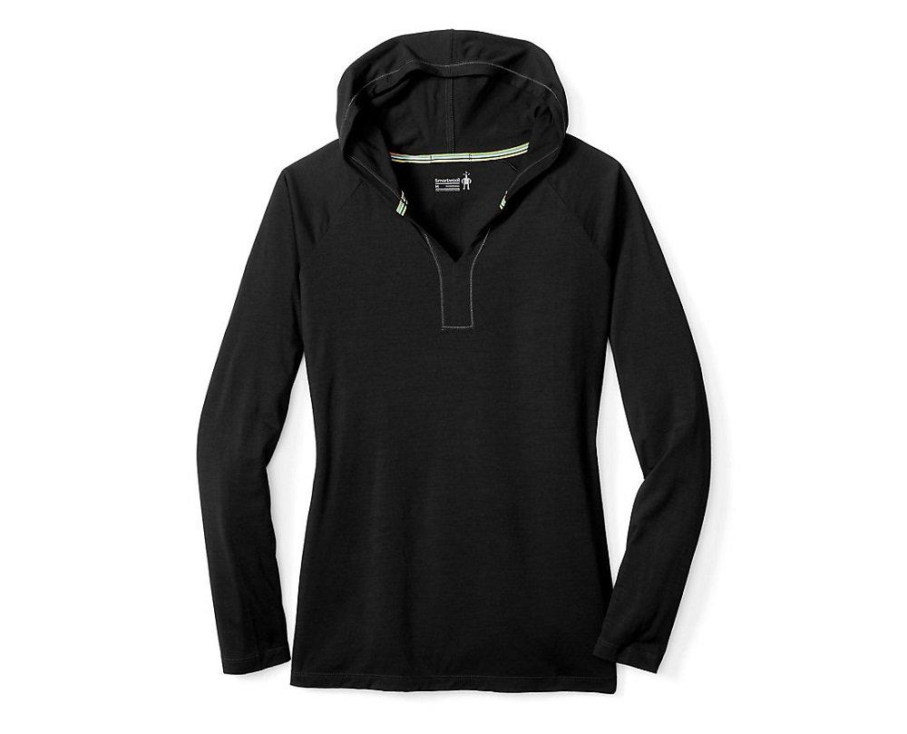 Smartwool Women's Merino 150 Hoody (Black) X-Large by SmartWool