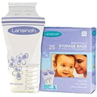 Lansinoh Breast Milk Storage Bags, 25's