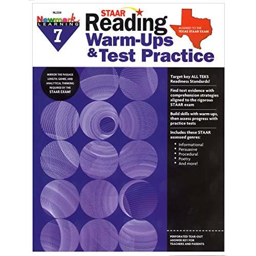 Newmark Learning STAAR Reading Warm-Ups & Test Practice Grade 7