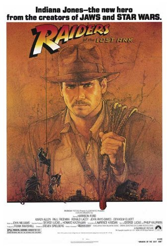 Raiders of the Lost Ark POSTER Movie (27 x 40 Inches - 69cm x 102cm) (1981) (Alfred Molina Raiders Of The Lost Ark)