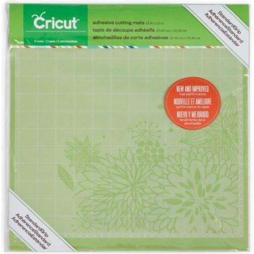 Cricut 2001974 Adhesive Cutting Mat, Standard Grip, 12 x 12-Inch B00BSK750Y