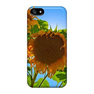 Iphone Covers Cases - Sunflowers In The Open Protective Cases Compatibel With Iphone 5/5s