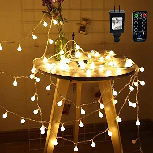100 Led Globe Christmas Lights in US - 7