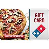Deals on $50 Dominos Pizza Gift Card Email Delivery