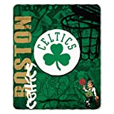NBA Boston Celtics Hard Knocks Printed Fleece Throw, 50' x 60'