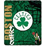 The Northwest Company NBA Fleece Hard Knocks Design Throw Blanket (50 Inches by 60 Inches)