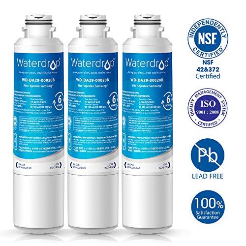 7. Waterdrop DA29-00020B Refrigerator Water Filter Replacement