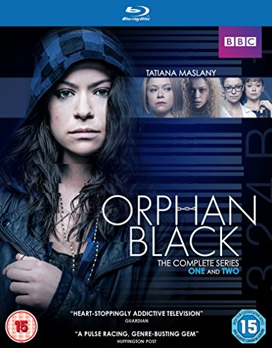 Orphan Black (Complete Series 1 & 2) - 6-Disc Box Set ( Orphan Black - Complete Series One and Two ) [ Blu-Ray, Reg.A/B/C Import - United Kingdom ]