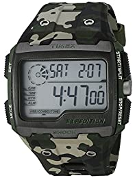 Timex Men's TW4B029009J Expedition choque reloj Digital de acero inoxidable