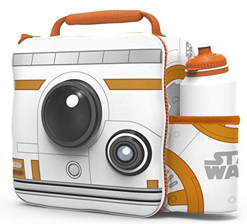 (Starwars Kids Children 3D Lunch Box Bag With Sport Water Bottle)