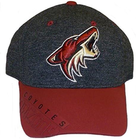 M670Z L//XL Reebok Arizona Coyotes Playoff Structured Flex Hat