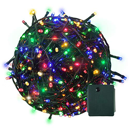 Citra 500 LED 100 M Extra Long Wire Fairy String Tree Twinkle Lights 8 Modes for Diwali Festival Decoration (Multi)