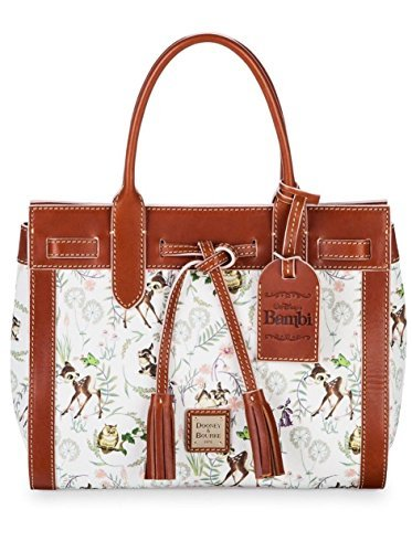 Dooney and Bourke Disney Parks Bambi Satchel Handbag Purse Bag