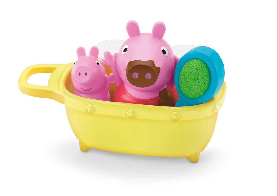 Amazon.com: Fisher-Price Muddy Puddles Bathtime Peppa Toy: Toys & Games