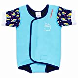 Cheekaaboo Waterbabes Baby & Kids One Piece Swimsuit for Boys and Girls, 18-30 Months, Blue