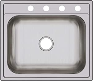 Elkay DPC12522104 Dayton Single Bowl Drop-in Stainless Steel Sink