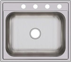 Elkay DPC12522104 Dayton Single Bowl Drop-in Stainless Steel Sink