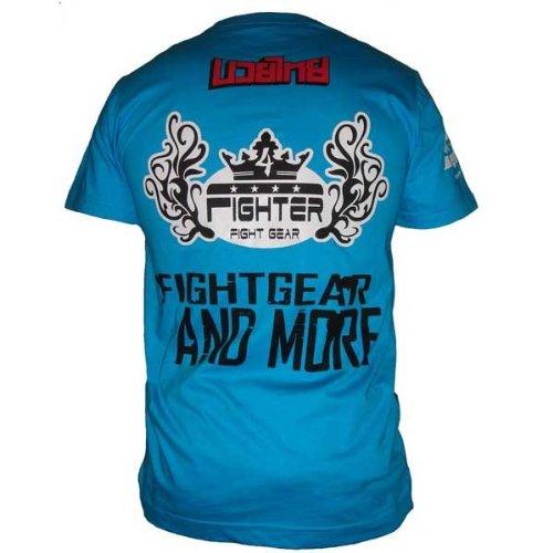 4fighter azul elegantes con hombre Camiseta logotipos para 'Retro' qwCnad