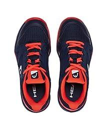 HEAD Sprint 2.5 Junior Tennis Shoe (Blue/Red)
